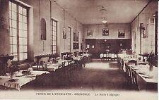 France Grenoble - Foyer de L'Etudiante - La Salle a Manger old unused postcard