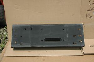 Bumper, front/HMMWV, 2540-01-361-8206