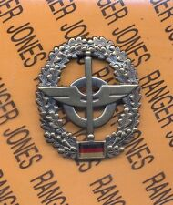 BRD German Army Logistics Supply QM Troops beret badge