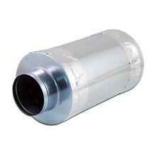 "4"" Inch Duct Muffler Inline Fan Hydroponics Noise Reducer Silencer F056"