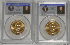 2013 P&D William McKinley Presidential Dollar $1  PCGS MS67  Position A