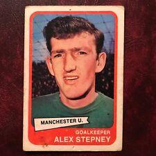1968/69 A&BC Footballer Set ALEX STEPNEY #40 MANCHESTER UNITED - G/VG