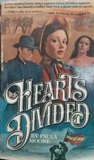Hearts Divided by Paula Moore (1979 Paperback)