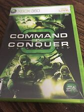 Command And Conquer 3 Tiberium Wars Xbox 360 Cib Game Nice Disc XG3