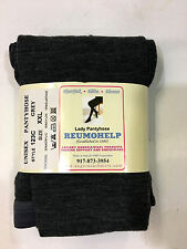 Reumohelp Gray Wool Lady Pantyhose (Pantyhose) Size XXL Made in Italy!!!