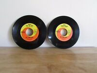 """NAT KING COLE Who's Next in Line / Dear Lonely Hearts 7"""" 45 RPM Capitol Records"""