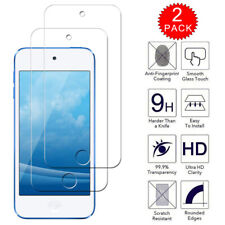 For Apple iPod Touch 7th Gen - HD Clear Tempered Glass Screen Protector [2-Pack]