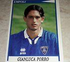 FIGURINA CALCIATORI PANINI 1998/99 EMPOLI PORRO ALBUM 1999