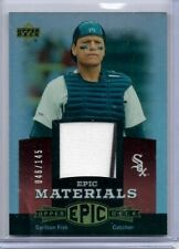 2006 Upper Deck Epic Materials Carlton Fisk Sox Jersey 046/145 EM-CF2