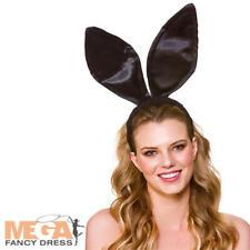 Gli adulti Grigio Bunny Rabbit Orecchie Coda Set Costume Pasqua Accessorio Costume