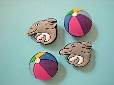 Jibbitz Croc Clog Shoe Charm Plug Bracelet Wristband Accessories Beach Dolphin
