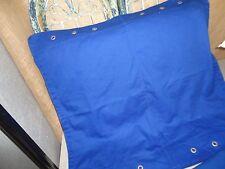 TOMMY HILFIGER CHINO BLUE (1) EURO PILLOW SHAM GROMMETS TWILL BOYS 26 X 26