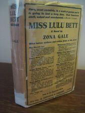 1st Edition MISS LULU BETT Zona Gale PULITZER Play DRAMA 13th Printing FICTION