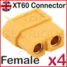 X4-XT60 Hembra 65 A alta corriente de alto rendimiento de los Conectores RC Lipo Batería