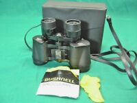 Bushnell Ensign 7 X 35 Insta Focus Binoculars with carrying case; Guaranteed