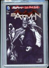 Batman #47 CGC 9.8 White Pages Ross Black and White Variant