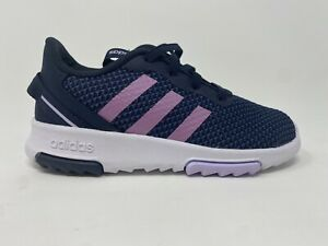Adidas FX7286 Kids Racer TR 2.01 Shoes, Blue/Purple, Size 10K, Free Shipping!