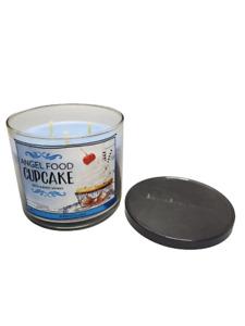 Bath & Body Works Angel Food Cupcake 3-Wick Jar Candle 14.5 oz
