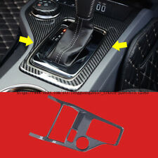 For Ford Everest 2016-2018 Carbon Fiber Interior Water Cup Panel Cover Trim 1pcs