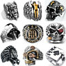 Fashion Men's Skull Rings Punk Style Finger Ring Jewelry Size 7-14