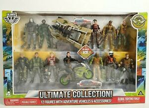 The Corps Time Crisis Ultimate Collection 12 Action Figures Vehicles Accessories