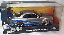 FAST & FURIOUS Brians Nissan Skyline GT-R BNR34 1/24 SCALE DIECAST OPENING Parts