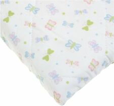 Carters Quilted Woven Playard Fitted Sheet, Butterfly (Discontinued by Manufa.