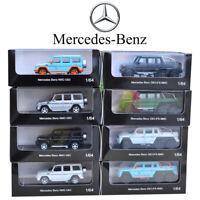 1:64 Metal Diecast Model Car Kits Collection Original Mercedes G63 G500 G Class