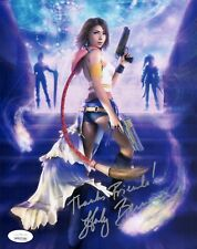 HEDY BURRESS Signed FINAL FANTASY Yuna 8x10 Photo IN PERSON Autograph JSA COA