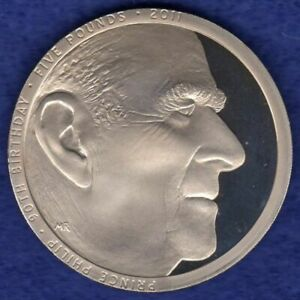 Great Britain, 2011 Proof £5 Coin, 5 Pounds, Prince Philip 90th (Ref. t4177)