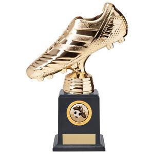 STRIKER Premium Football Heavyweight Trophy GOLDEN BOOT - FREE Engraving (team)