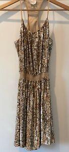 Parker Gold Sequin Mini Dress - Size S