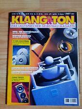 Klang und Ton -  Klang & Ton, Lautsprecher Selbstbau Magazin 3/95 !!!