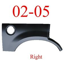 02 05 Ford Explorer Right Upper Arch Repair Panel, Patch, 1996-148