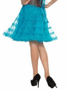 Layered Underskirt Under Skirt Fancy Dress Halloween Costume Accessory 5 COLORS