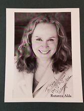 Rutanya Alda autographed Photograph - COA