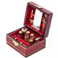 Doll House Accessories 1:12th Miniature 1 x Jewelry Box