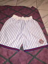 Vntg 1990s Iba international Basketball Association Pinstripe Shorts Xl Usa Made