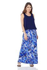 Roman Originals Women's Double Layer Tropical Dress Sizes 10-20