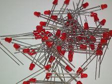 25,50,100 Stück LED 3 mm rot, rund, bedrahtet Leuchtdioden LEDs