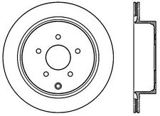 Power Slot Slotted Brake Rotor fits 2003-2013 Nissan Murano Quest  POWER SLOT
