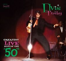 Elvis Presley - GREATEST LIVE HITS OF THE 50'S - CD - New & Sealed