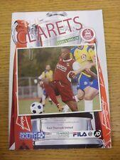 20/10/2012 Chelmsford City v East Thurrock United [FA Cup] (folded, creased corn