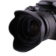 52MM Screw Mount Reversible Petal Flower Lens Hood for All DSLR SLR Camera Lens