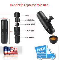 Mini 1-Cup Handheld Portable Espresso Machine Coffee Maker Mini Camping Travel
