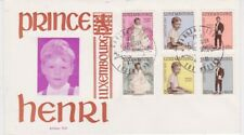 Luxembourg-1961 Prince Henri Caritas Fund First Day Cover