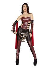 Gladiator Warrior Princess Ninja Spartan Fancy Dress Halloween Costume 6 8 10