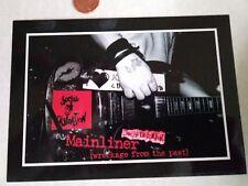 Social Distortion Postcard Rare (Rockabilly, Punk Rock, Music) Brand New, 2002