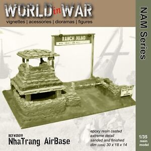 World in War - 1/35 Nha Trang AIRBASE entry - Vietnam War