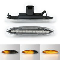 For Toyota LEXUS IS250 350 430 E350 Dynamic Flowing LED Side Marker signal Light
